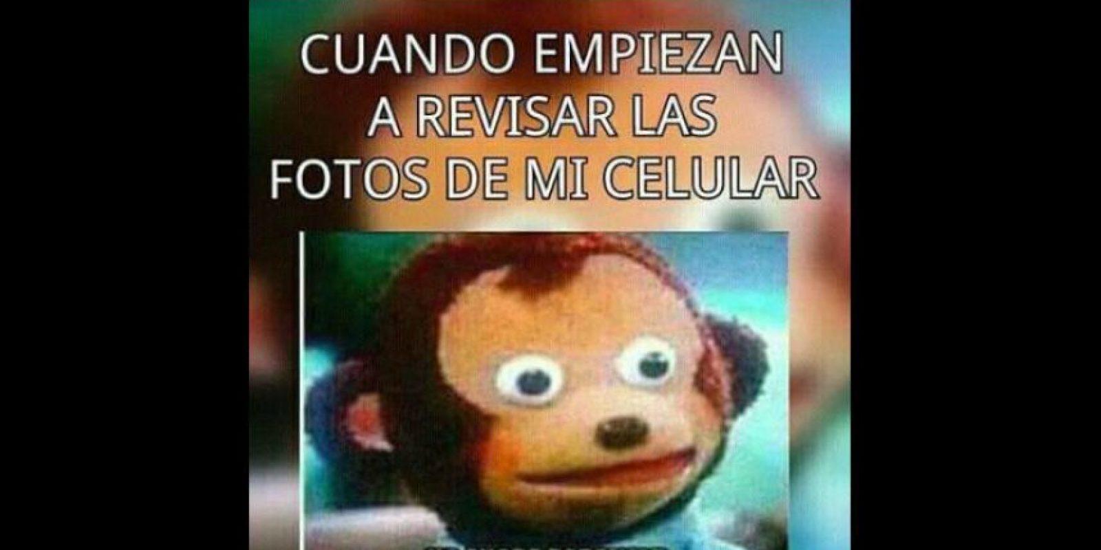 """Memes que hablan de ser atrapado """"in fraganti"""". Foto:vía Twitter"""