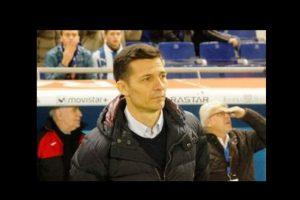 Constantin Galca, actual entrenador del Espanyol Foto:Ramón Mompió