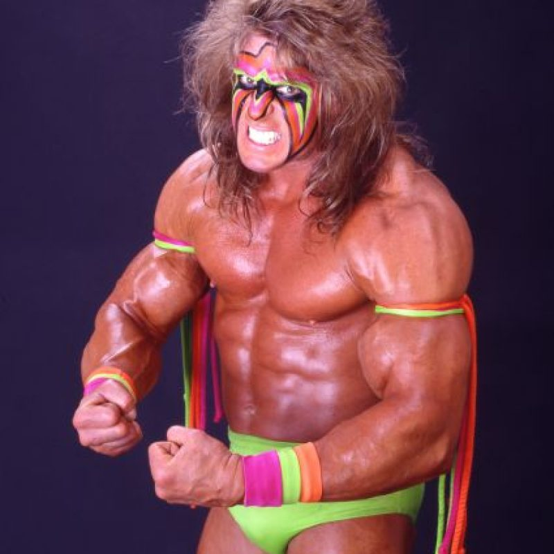 The Ultimate Warrior. Murió en abril de 2014, tres días después de ser inducido Foto: WWE