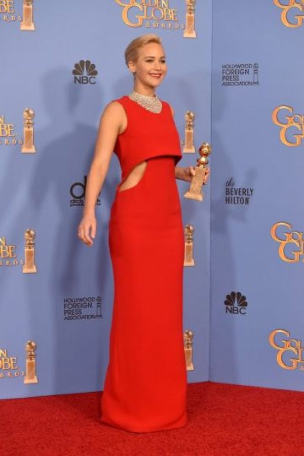 Lo usó en los Golden Globes Foto: Getty Images