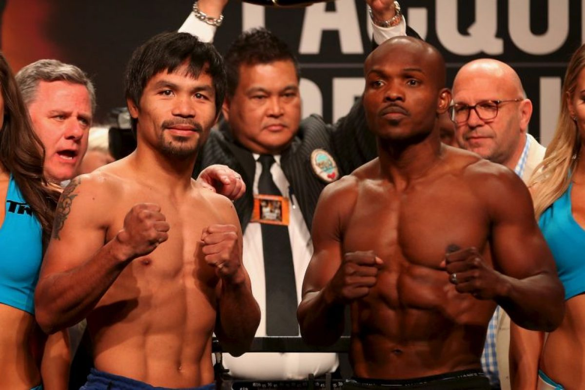 Manny Pacquiao vs. Timothy Bradley Foto: Getty Images