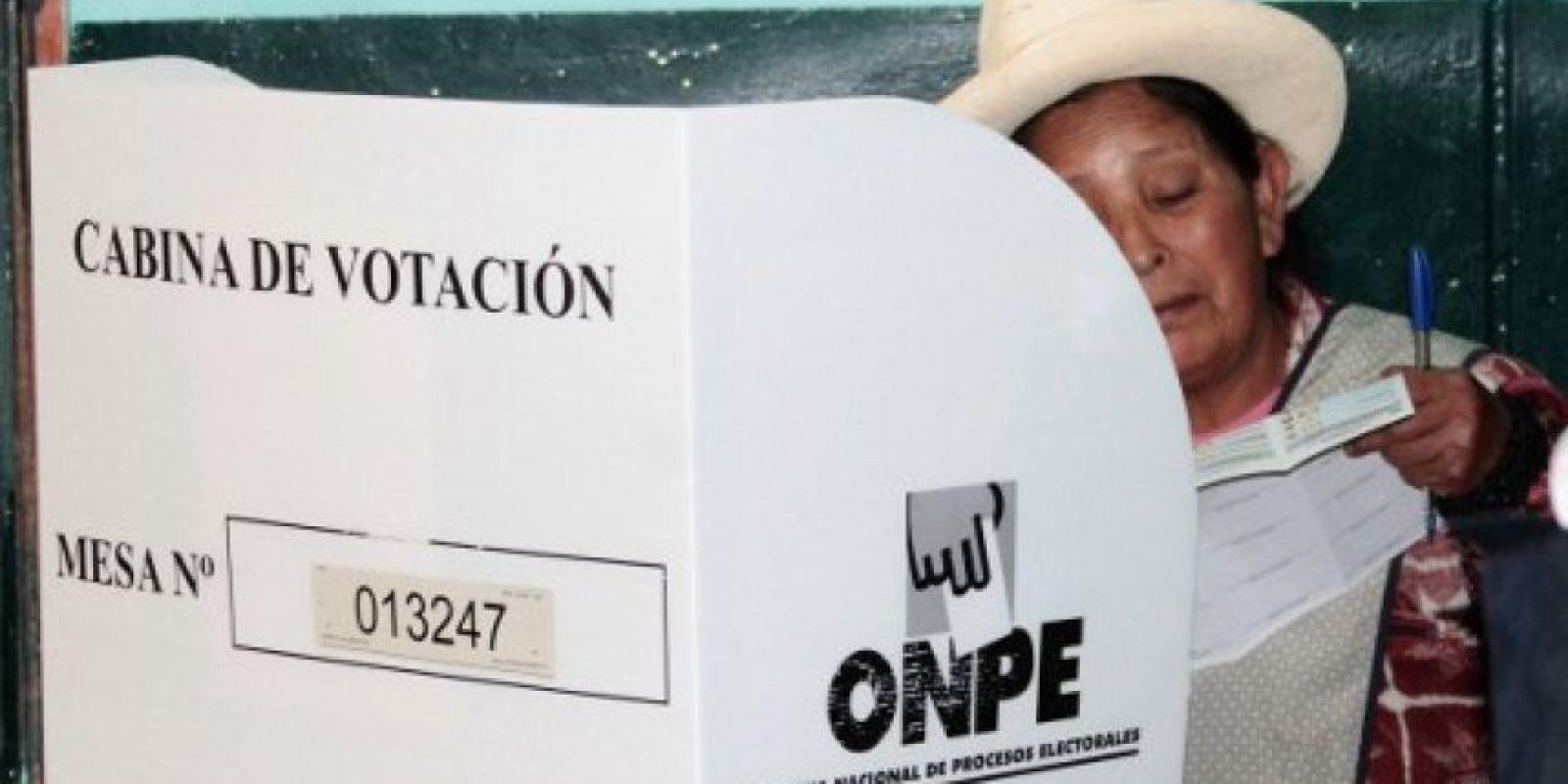 Perú se va a segunda vuelta Foto:AFP