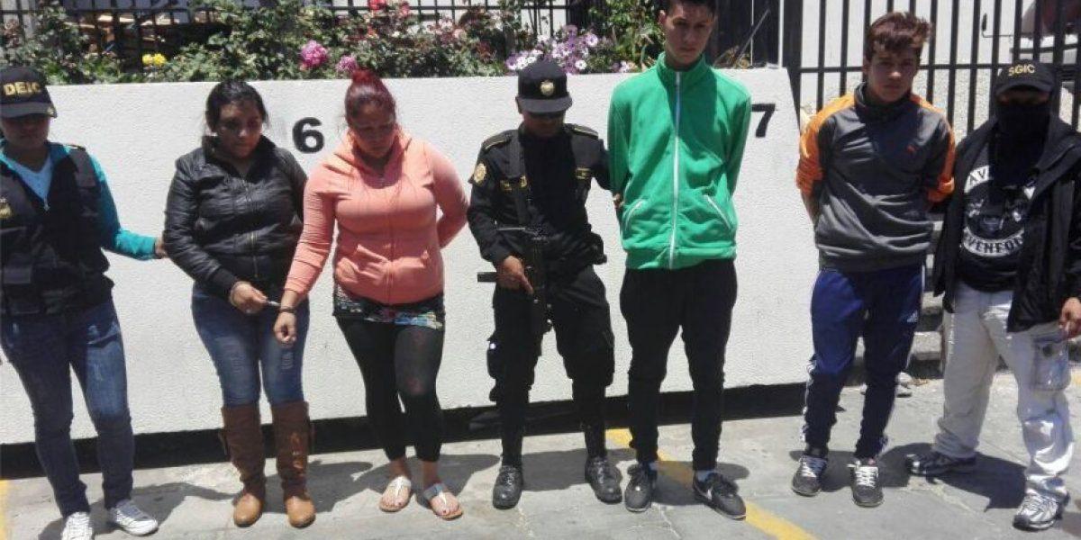 A estos cuatro capturados, los une más que lazos familiares