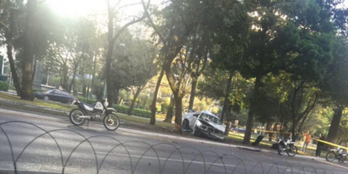Capturan a los dos pilotos del accidente en avenida Reforma ocurrido el sábado