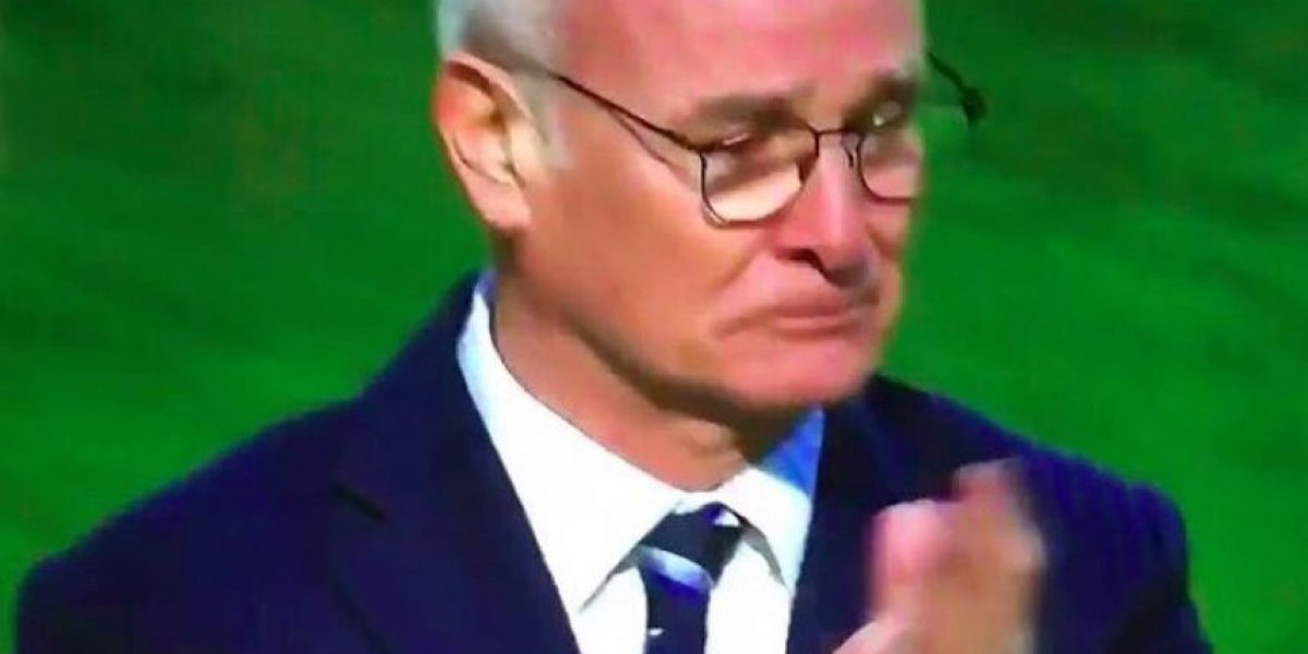Video: Claudio Ranieri llorando después del partido Leicester City vs Sunderland, Premier League 2016