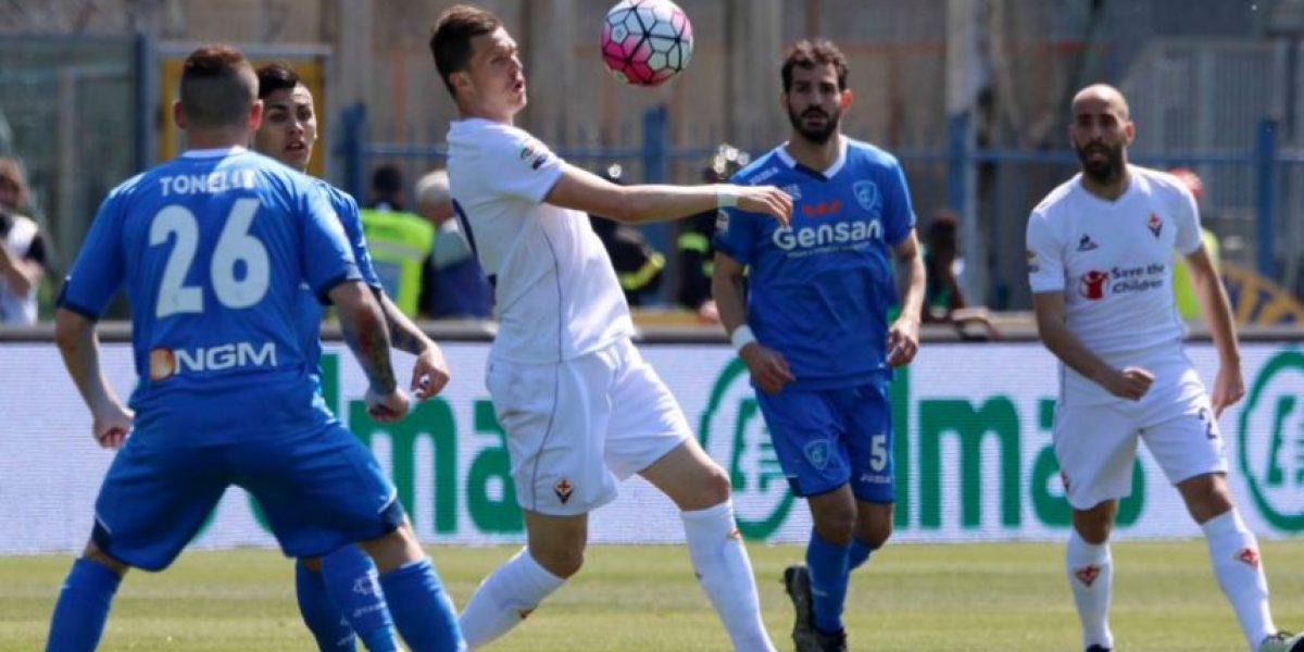 Resultado del partido Empoli vs Fiorentina, por la Serie A 2015-2016