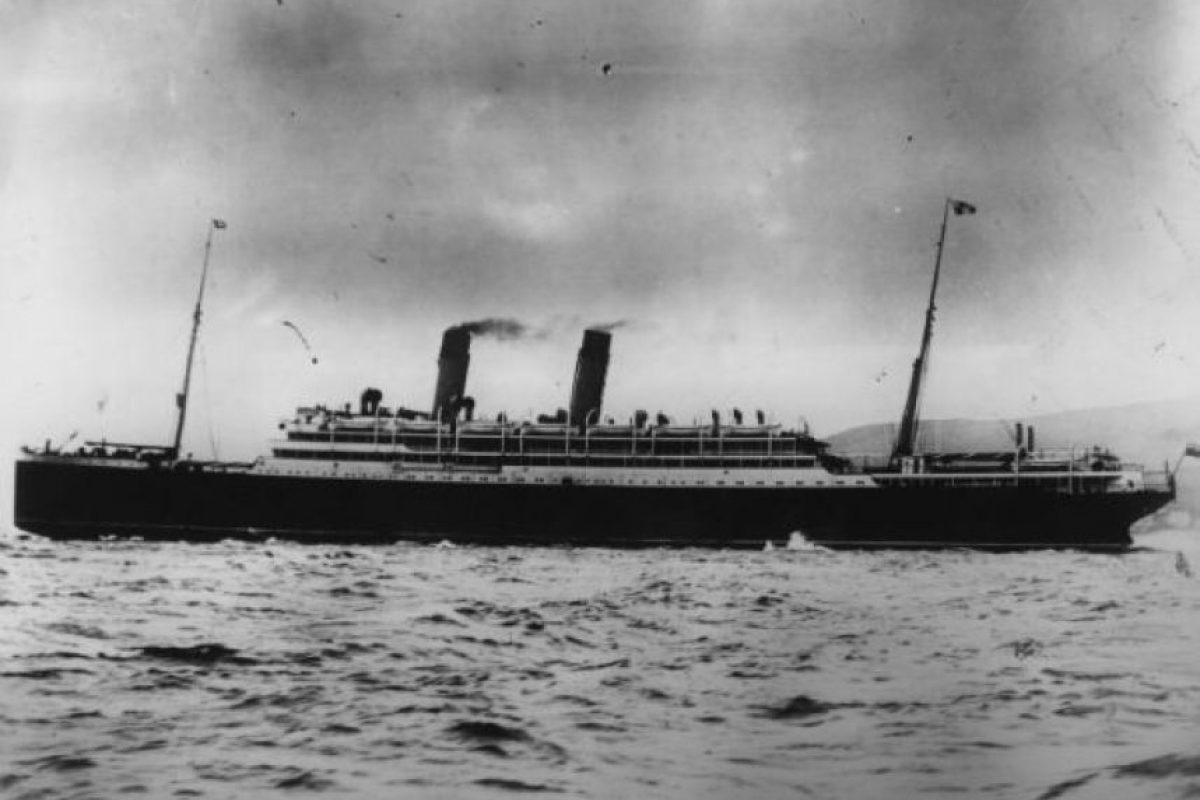 Empress of Ireland. Este barco canadiense se hundió el 29 de mayo de 1914, mil 260 personas perdieron la vida. Foto:Getty Images
