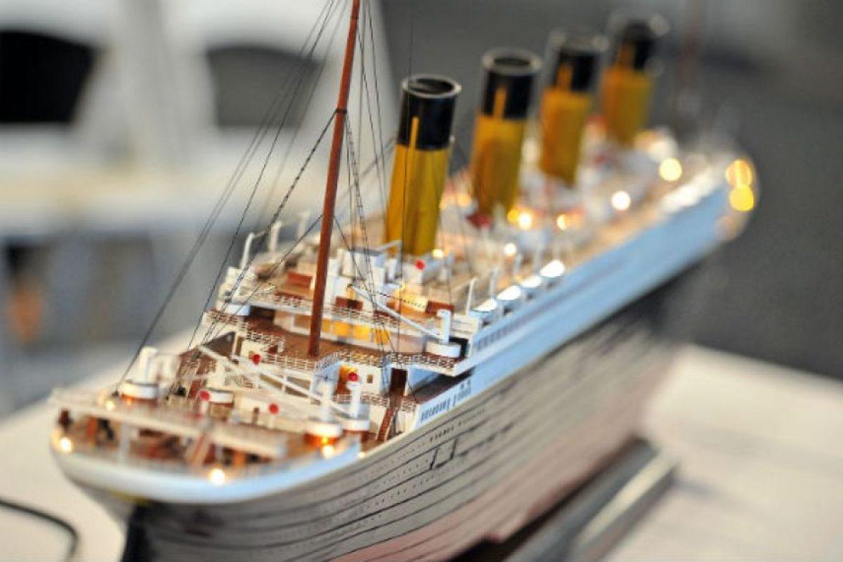 Titanic. Un transatlántico inglés, que naufragó en la noche del 14 de abril de 1912, más de 1500 persona murieron. Foto:Getty Images