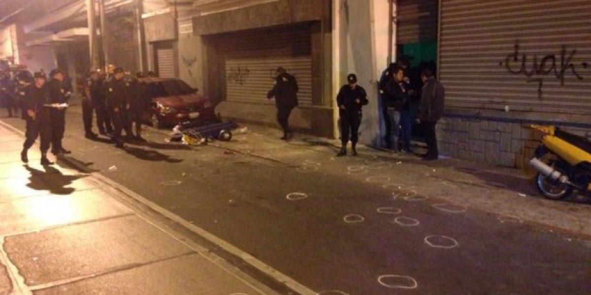 La Fiscalía reconstruye el ataque en discoteca de la zona 1 donde murieron 6 personas