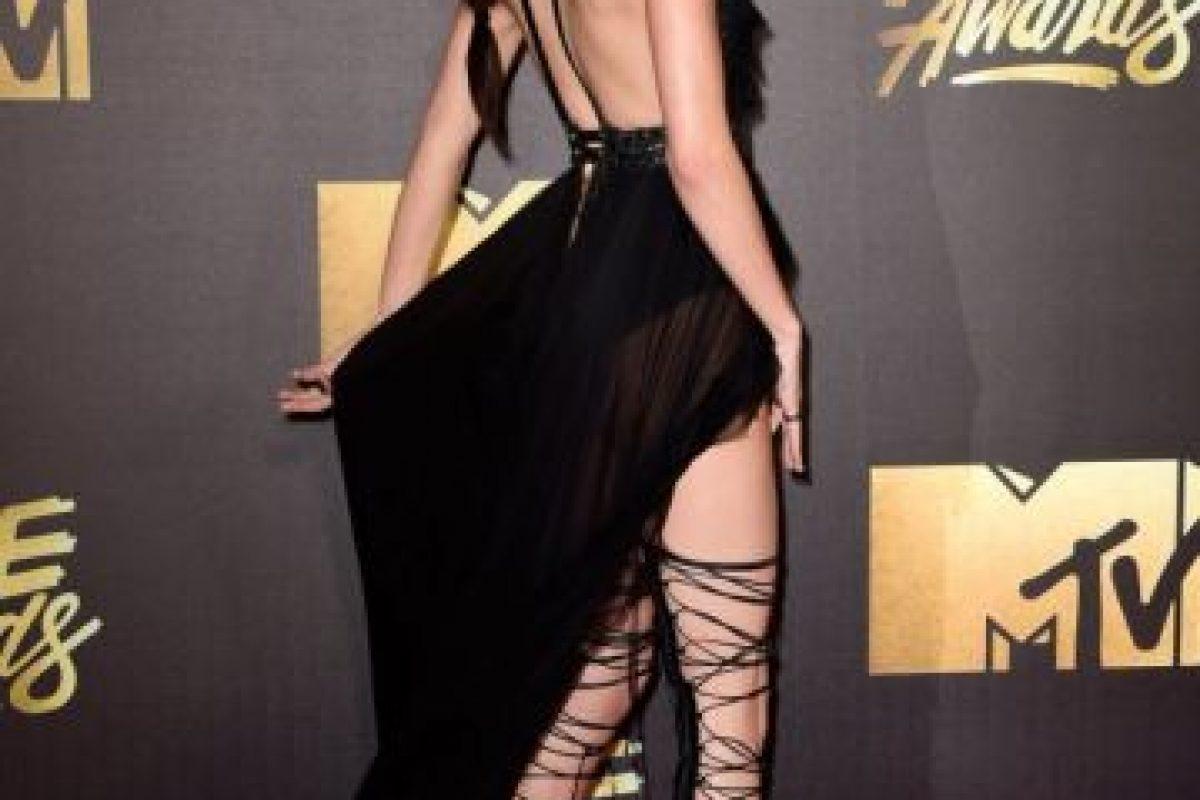 Kendall en los MTV Movie Awards Foto:Getty Images