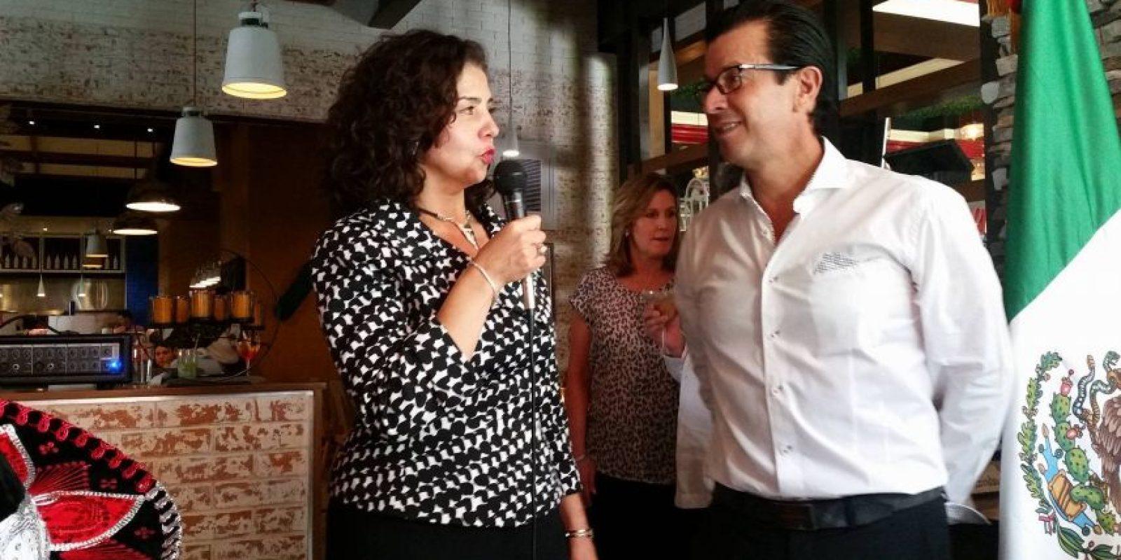 La embajadora mexicana da inicio al Festival. Foto:Publinews