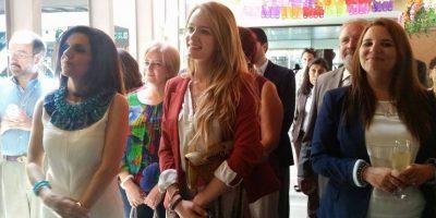 Entre los invitados estuvo Stephanie Zelaya, cantante guatemalteca. Foto:Publinews