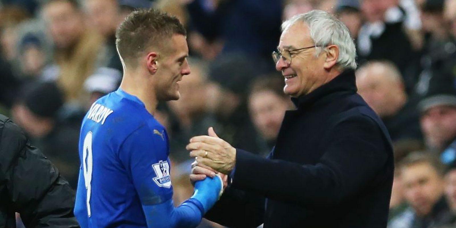 El Leicester marcha como líder de la Premier League con 72 puntos en 33 partidos Foto:Getty Images