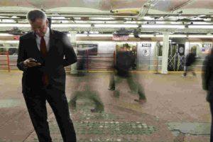 """El """"Simon"""" de IBM fue el primer intento real de smartphone. Foto:Getty Images"""