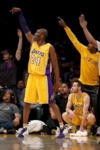 El próximo 13 de abril Kobe Bryant jugará su último partido como profesional Foto:Getty Images