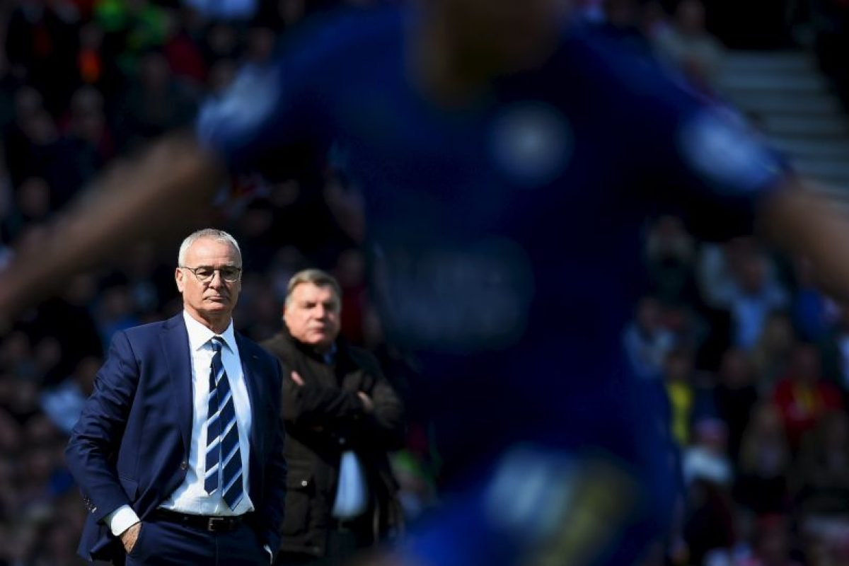 Ranieri lloró después del último triunfo de su club Foto:Getty Images
