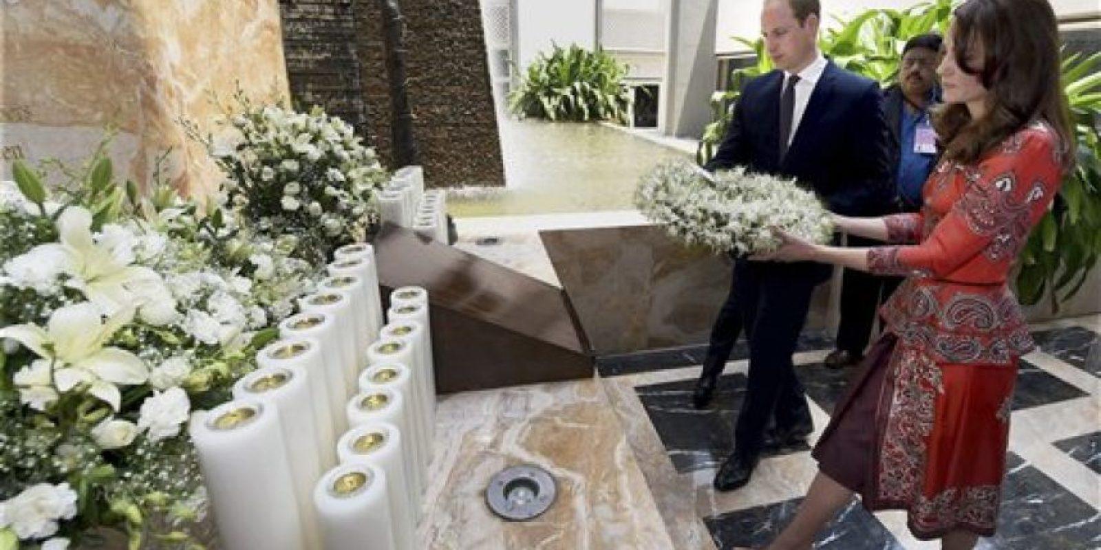 Así disfrutan los Duques de Cambridge su visita a India Foto:AP