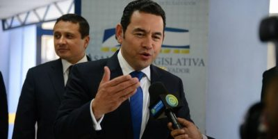 VIDEO. Jimmy Morales habla sobre la disculpa de Giordano y pide sanciones