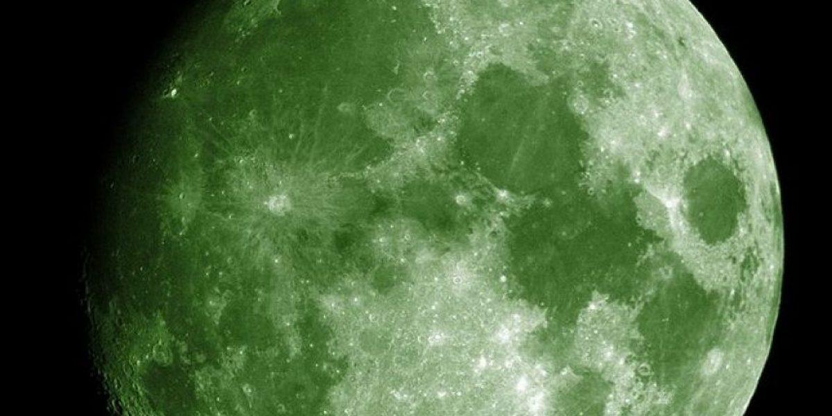 ¿Luna verde el 20 de abril de 2016?