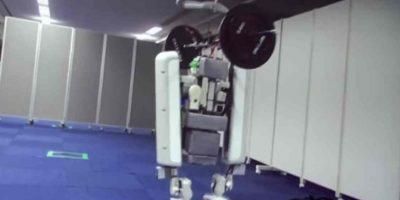 Este nuevo robot de Google es capaz de levantar hasta 60 kilos. Foto:YouTube/mehdi_san