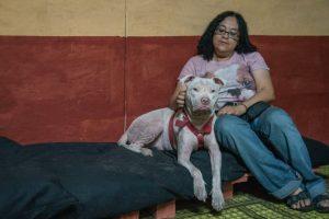 Su estado era tan crítico que ella decidió quedarselo Foto:Luis Carlos Nájera