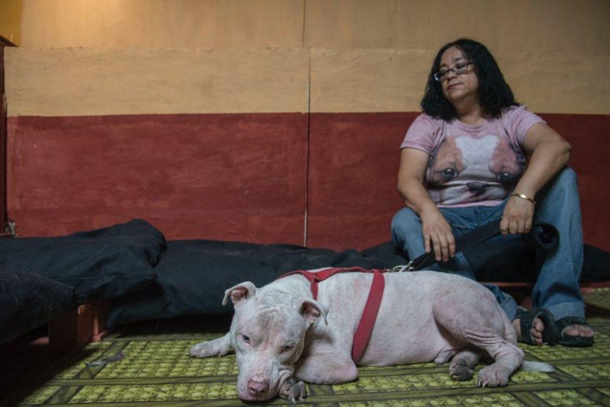 La madre de Corey, ha sido de gran apoyo para la recuperación de Nico Foto:Luis Carlos Nájera