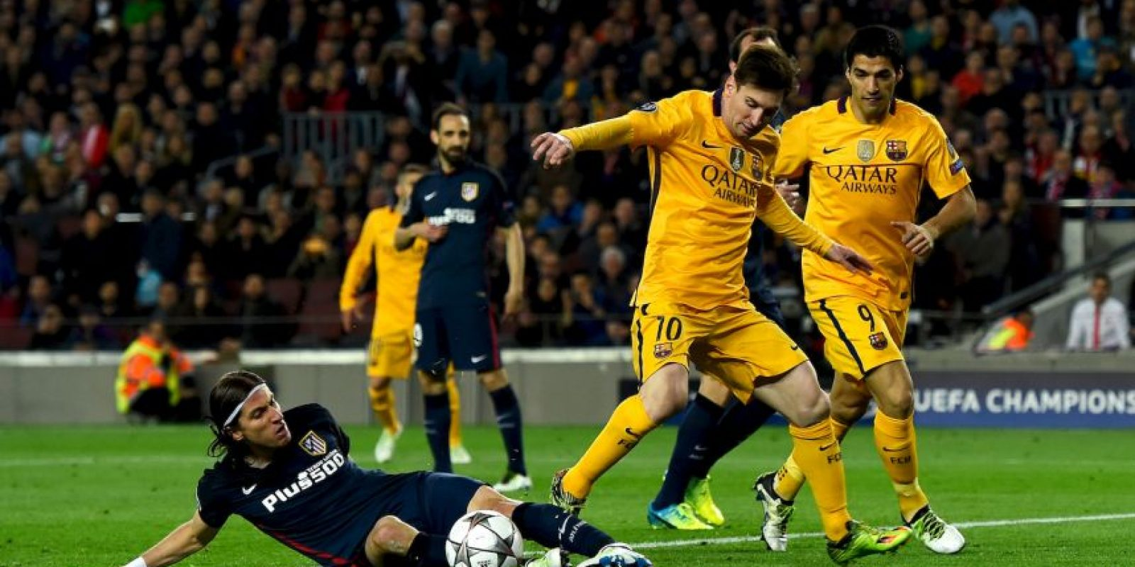 Atlético de Madrid vs. Barcelona Foto: Getty Images