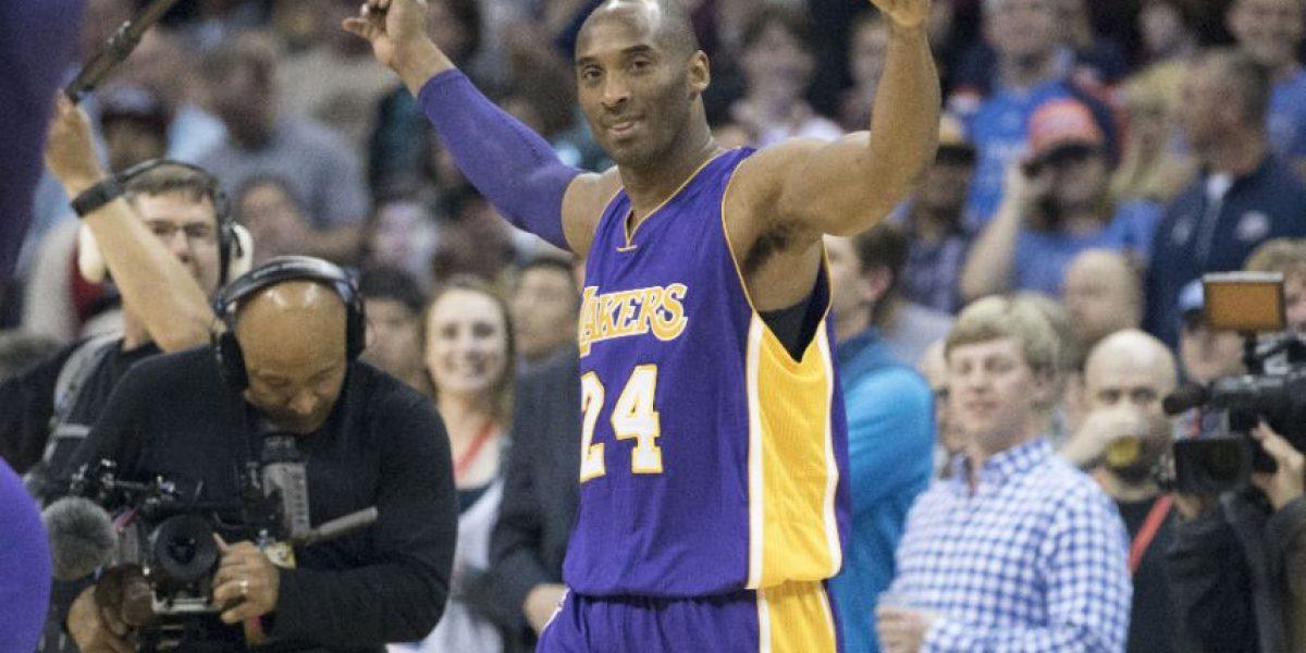 Kobe Bryant se retira después de 20 temporadas de la NBA con los Lakers
