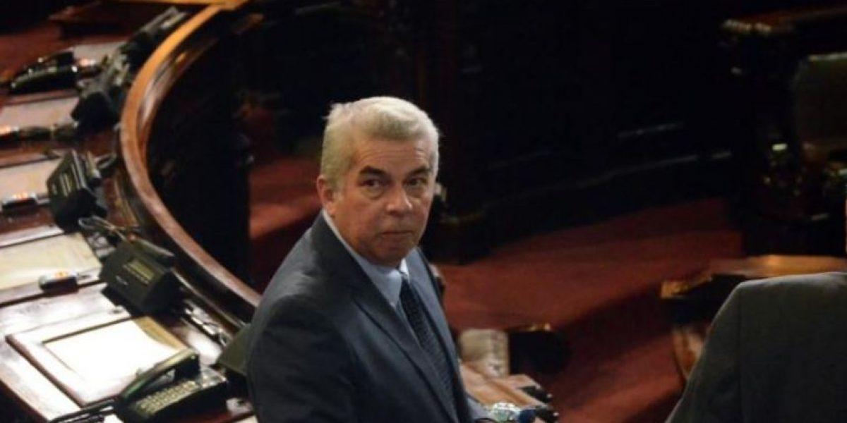 El tránsfuga, independiente y expresidente del Congreso Luis Rabbé