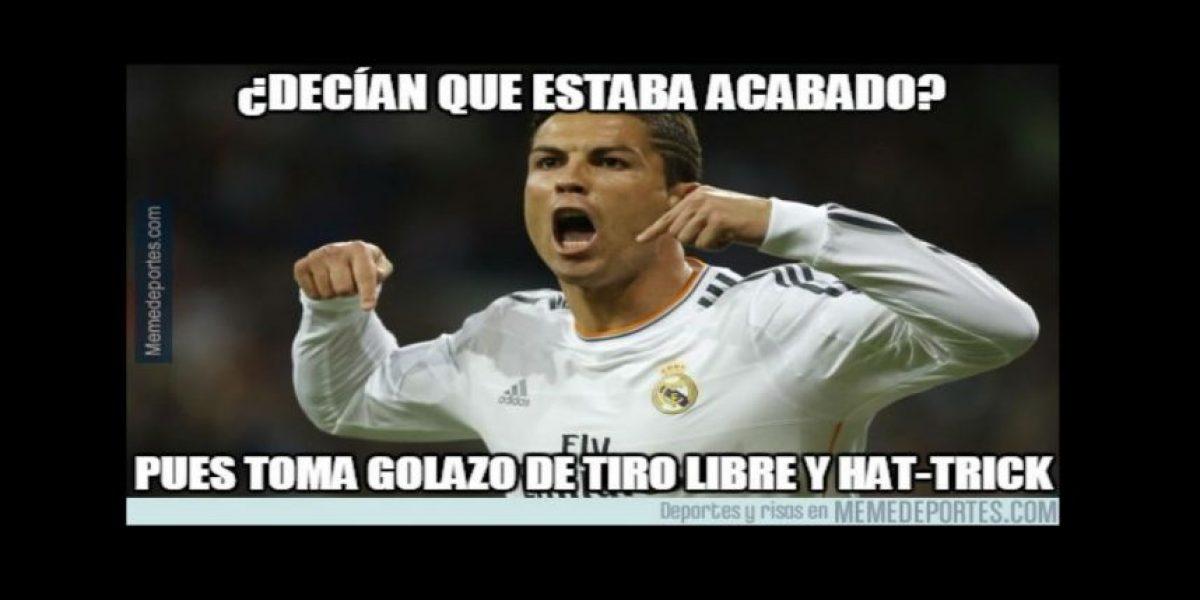 Memes: Cristiano Ronaldo marca un hat-trick y lo celebran en las redes