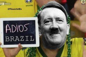 Esto apareció cuando Alemania derrotó a Brasil en 2014. Los alemanes desde entonces mantienen vergüenza histórica sobre lo sucedido. Foto:vía Tumblr