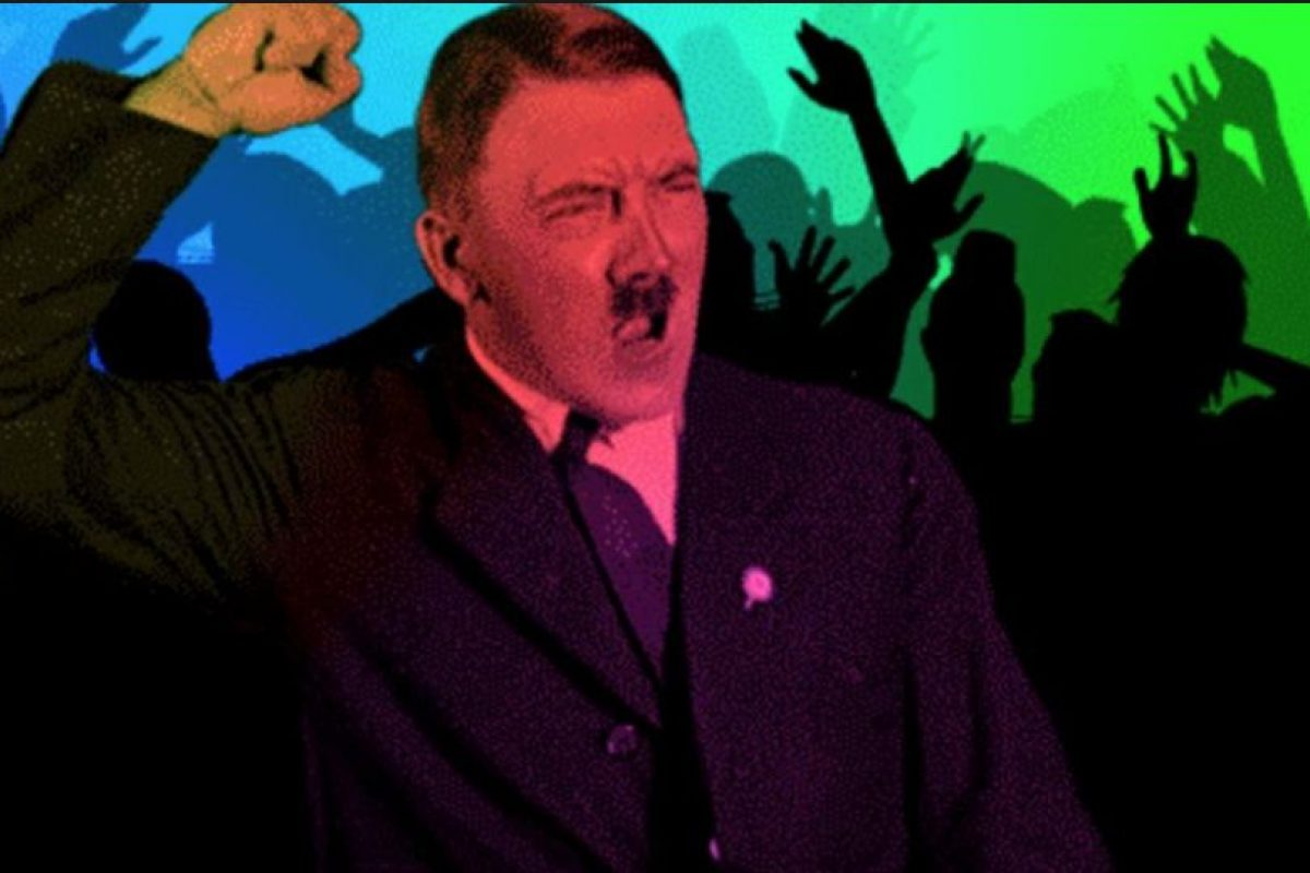 Se suelen hacer chistes crueles sobre la Solución Final. También hay GIFs del dictador. Foto:vía Tumblr