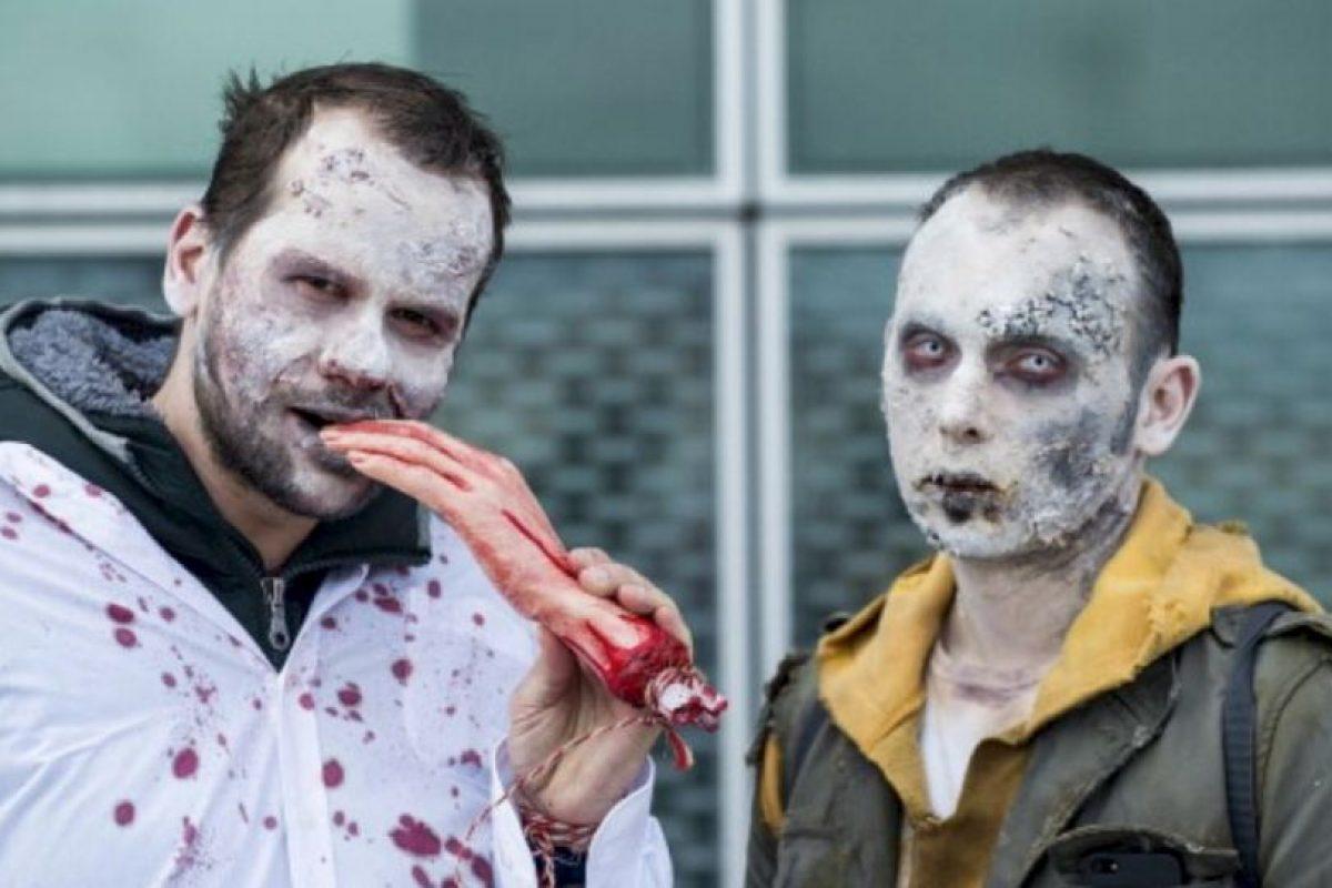 Colegio de Columbia, Chicago – Los zombis en los medios de comunicación Foto:vía Getty Images