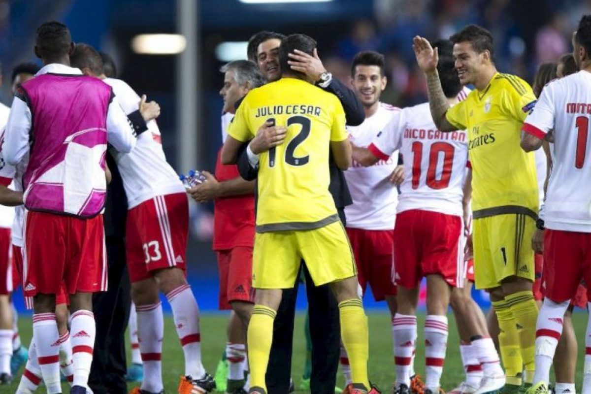 Benfica vs. Bayern Múnich Foto:Getty Images