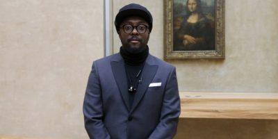 Will.I.Am presenta sus videos en el Museo del Louvre