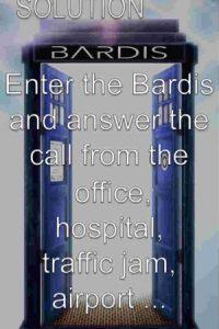 Entren a Bardis y respondan la llamada fingiendo que están en otro lado. Foto:Bardis