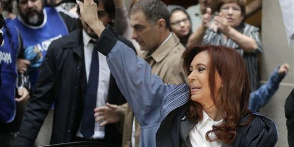 Así fue el revuelo que causó Cristina Fernández en Buenos Aires