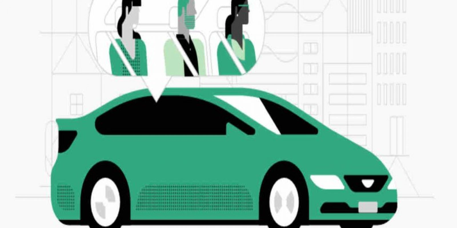 """Recientemente Uber lanzó """"UberPool"""" que les permite compartir el automóvil. Foto:Uber"""