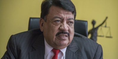 Dr. José Adolfo Reyes Calderón Foto:Luis Carlos Nájera