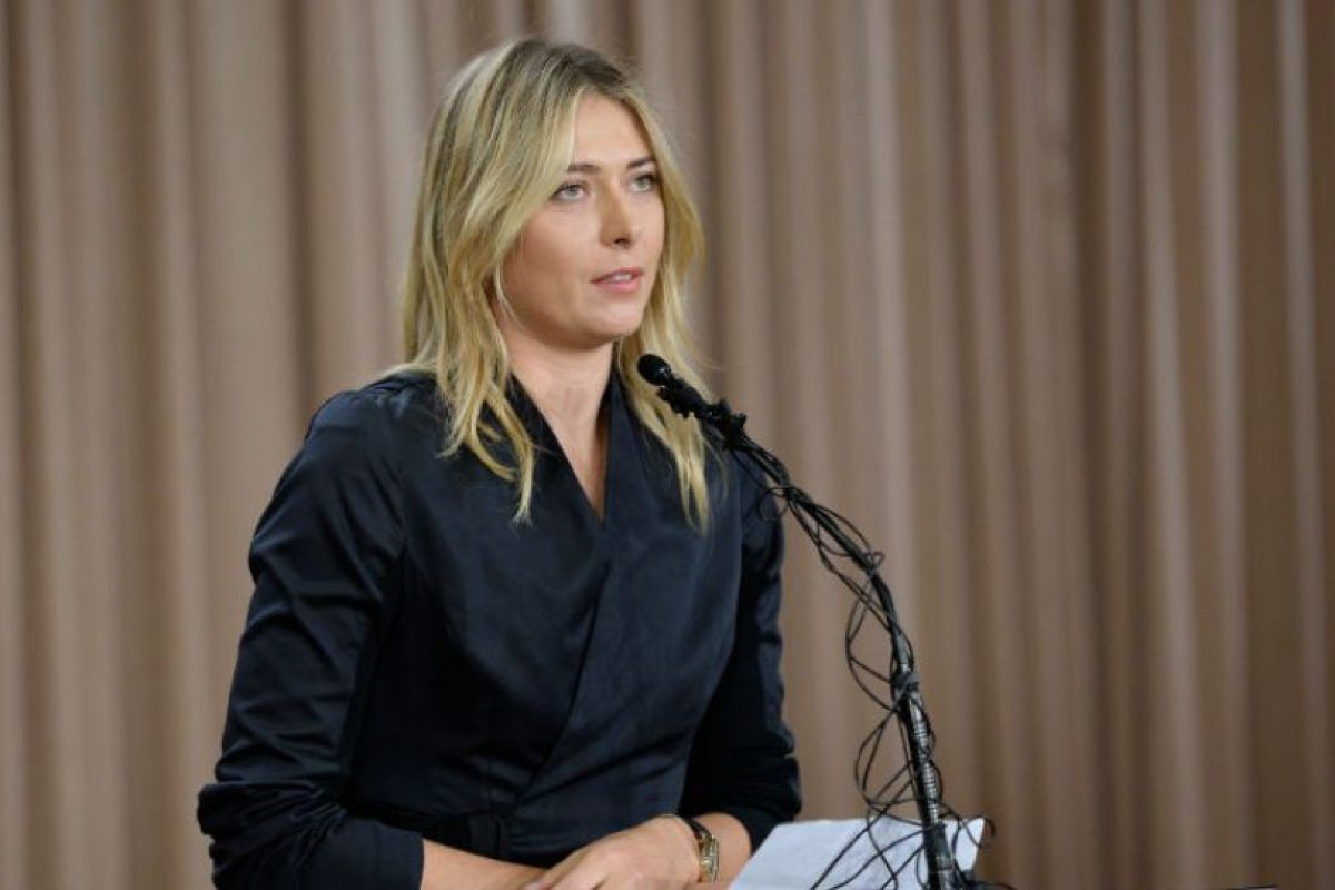 ¿Perdonarán a Maria Sharapova? Foto: Getty Images