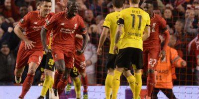 Resultado del partido Liverpool vs Borussia Dortmund, vuelta de cuartos de final de la Europa League 2015-2016