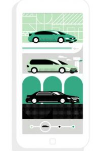 Uber inició actividades el 13 de abril en Buenos Aires. Foto:Uber