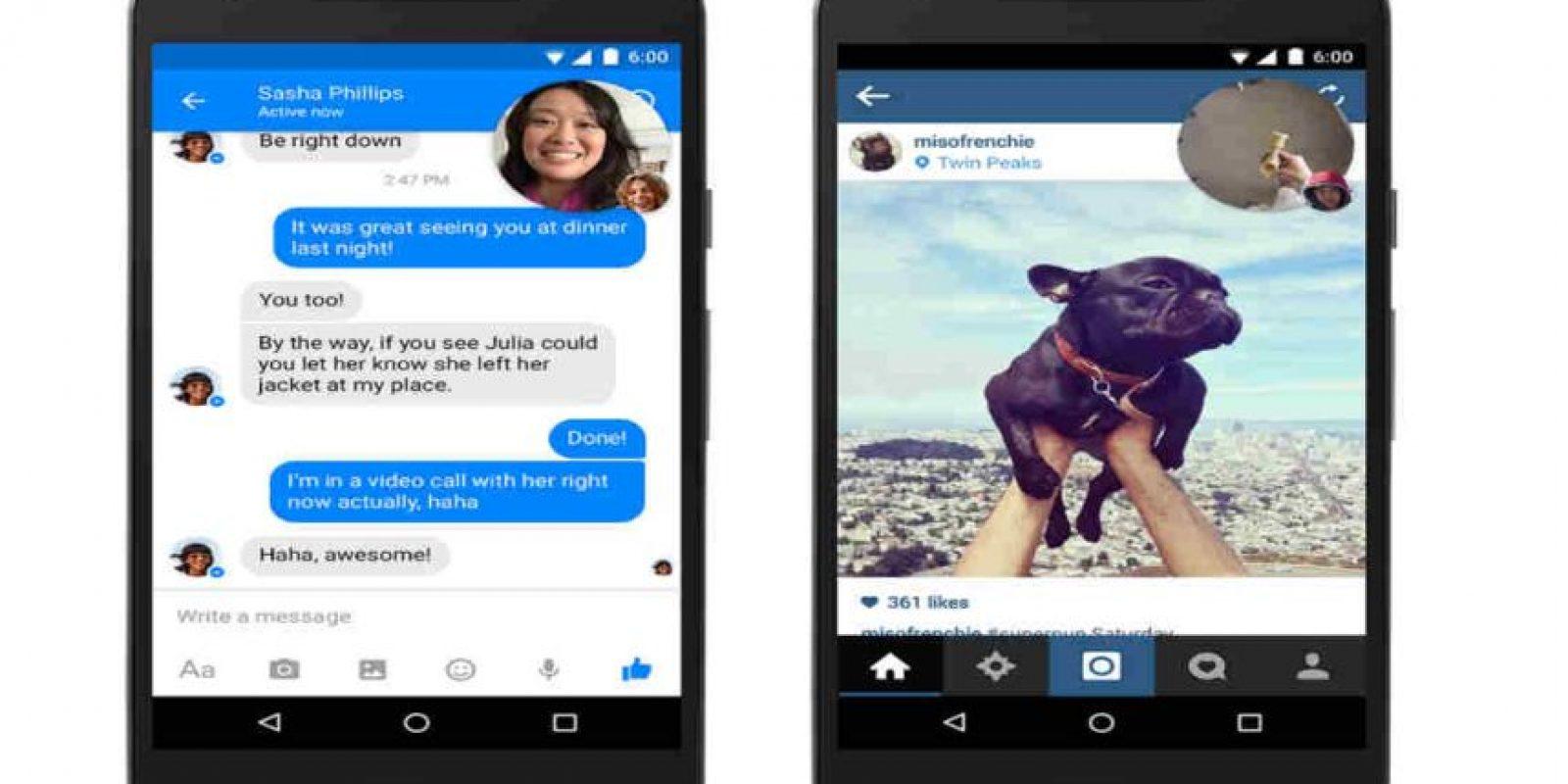 Las videollamadas ya llevan tiempo funcionando en Messenger. Foto:Messenger