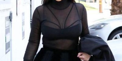Así luce el derrière de Kim Kardashian a cuatro meses de ser mamá