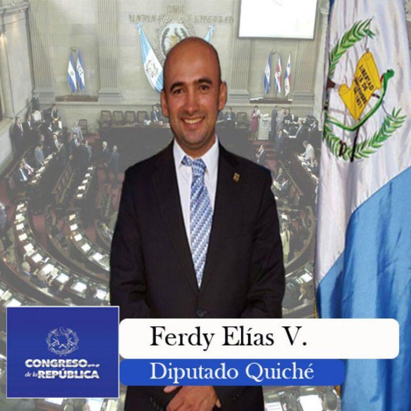 FCNNacion Ferdy Ramón Elías Velásquez diputado Foto:Cortesía