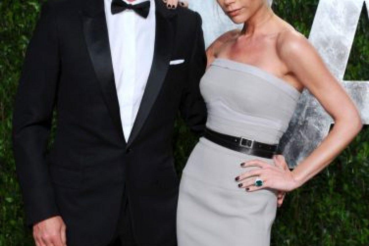 David y Victoria Beckham Foto:Getty Images