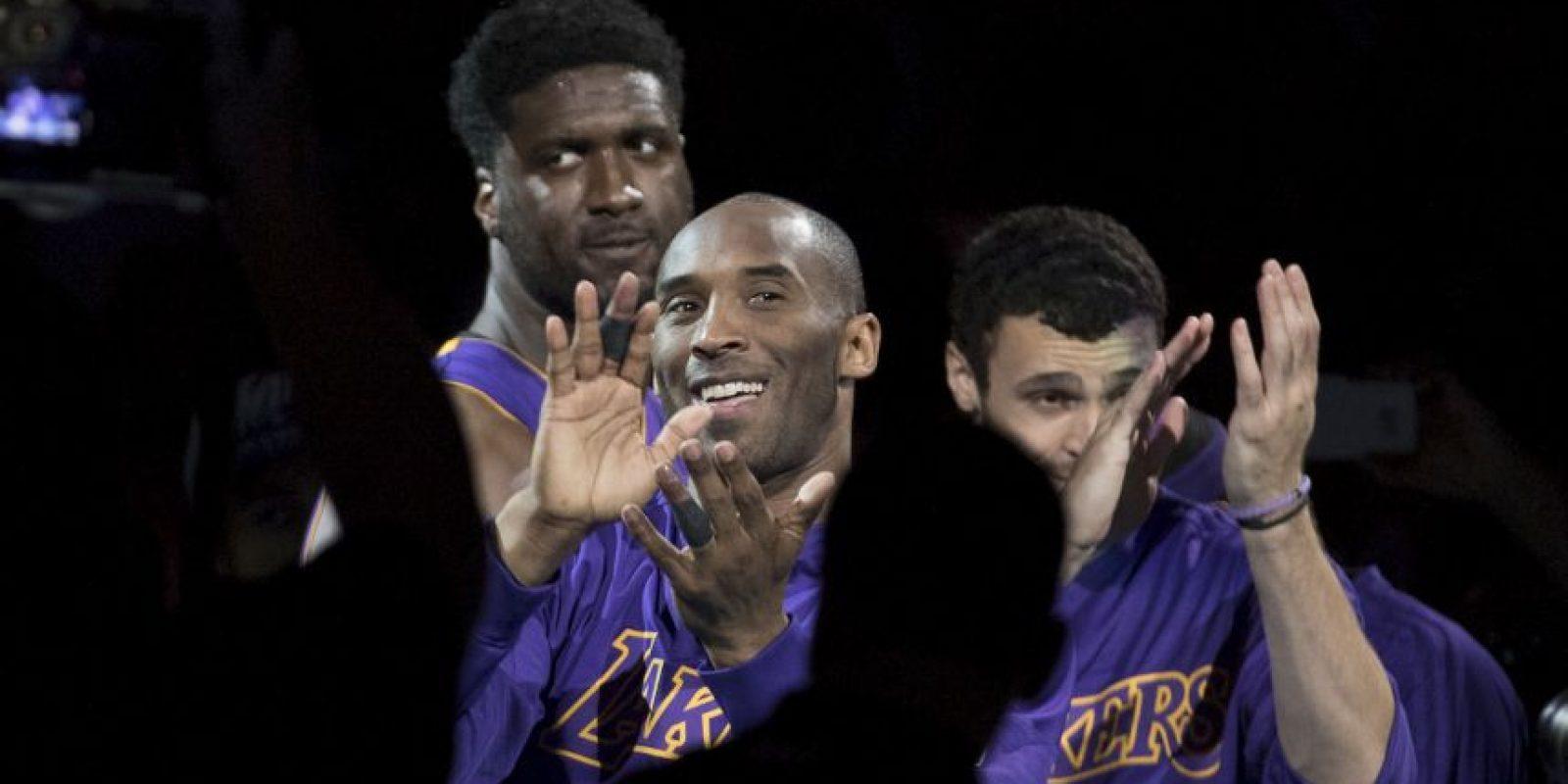 Kobe Bryant se retiró del baloncesto Foto:Getty Images