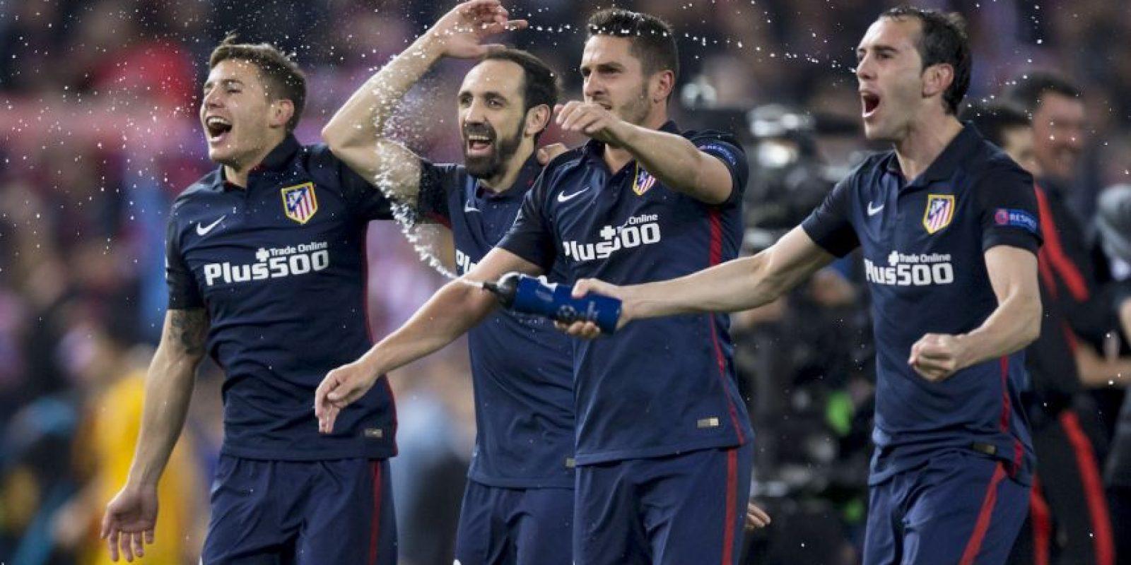 """Los """"colchoneros"""" volvieron a eliminar a Barcelona Foto:Getty Images"""