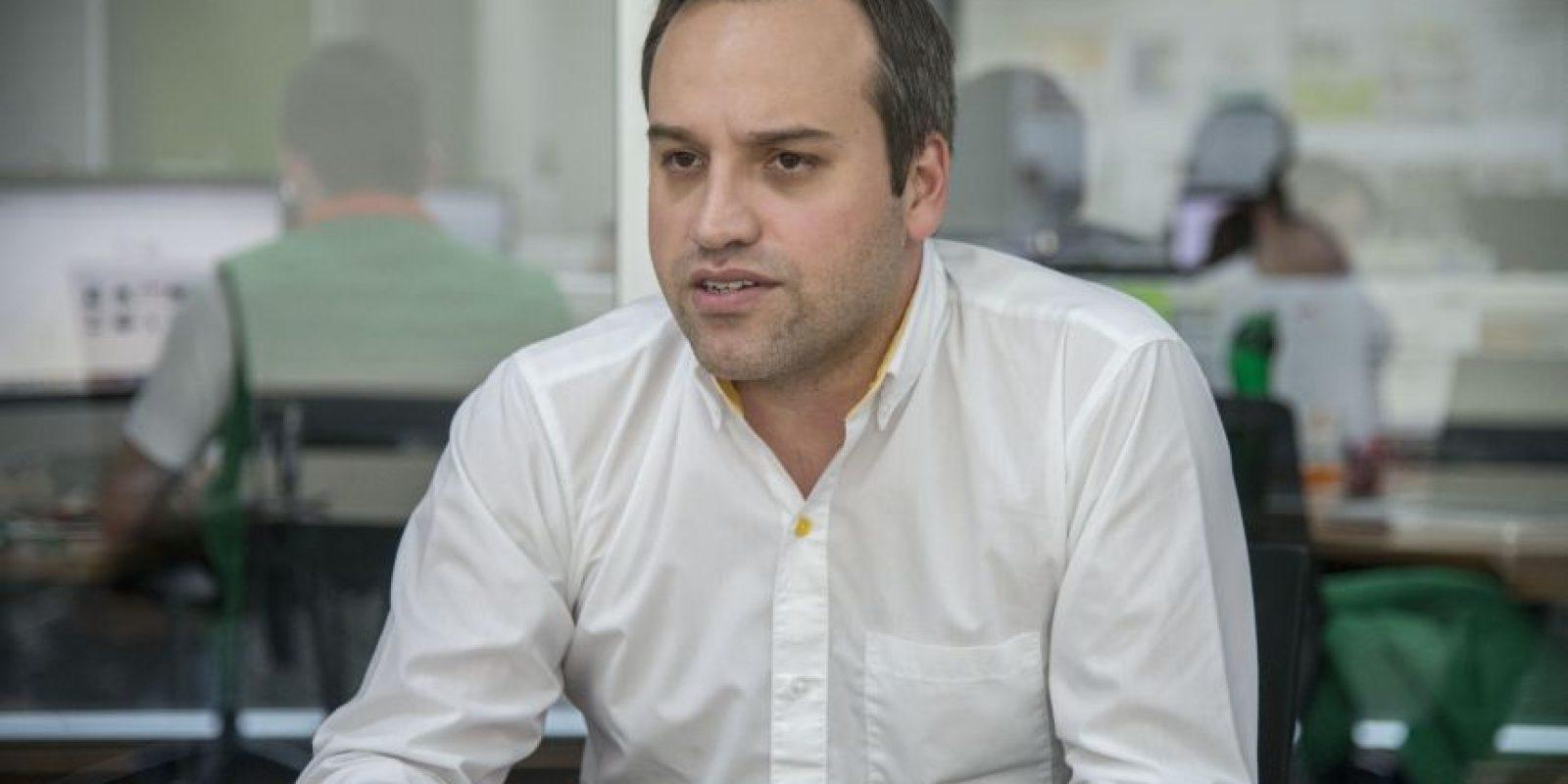 Diego Velázquez, Brand Manager de Renault, explicó los beneficios de los vehículos eléctricos. Foto:Luis Carlos Nájera