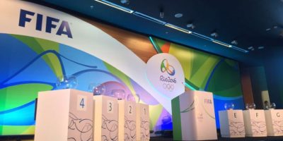 En vivo: El sorteo varonil de fútbol de los Juegos Olímpicos de Río 2016